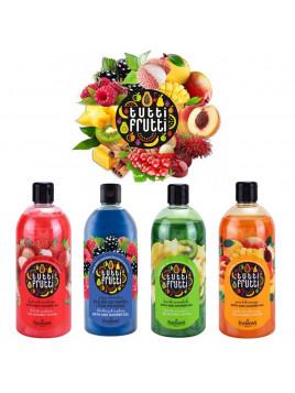 Gel douche bain moussant fruit exotique satiné nacre odorant délice