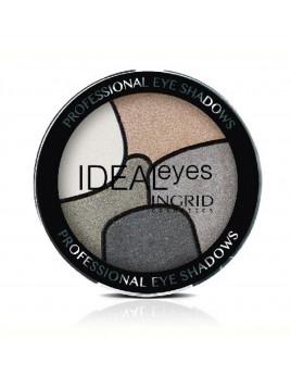 Palette 5 Ombres Ingrid Cosmetics, definir, dessiner, sculpter vos paupières