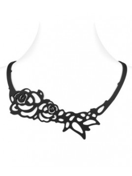 Collier Lady Gum Rose Japonaise