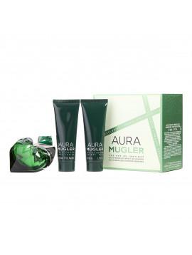 Coffret Aura - Mugler parfum lait douche corps intense