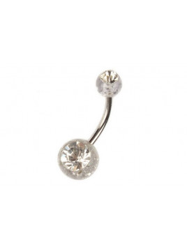 Piercing Nombril Strass et Paillettes